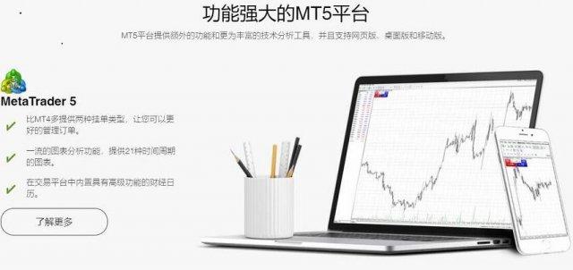 Thinkmarkets MT5平台